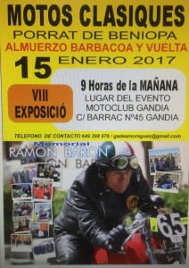 MEMORIAL RAMON BARON 2017